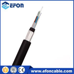 24/72/96 Core Glass Yarn Armored ADSS Optical Fiber Cable (GYFTY53-FS) pictures & photos