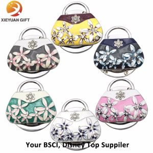 BSCI Audit Bulk Foldable Purse Hook (XYmxl110401) pictures & photos