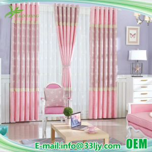 Manufacturer Wholesale Damask Bedroom Window Curtain with Embroidered pictures & photos
