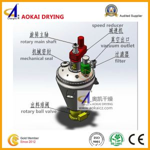 Cone-Shape Helical Ribbon Vacuum Drying Machine pictures & photos