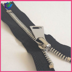 Silver Color Available with Heavy Washing Metal Zipper pictures & photos