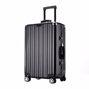 4 Piece Travel Spinner Luggage Set Bag ABS Trolley Carry on Suitcase Tsa Lock pictures & photos