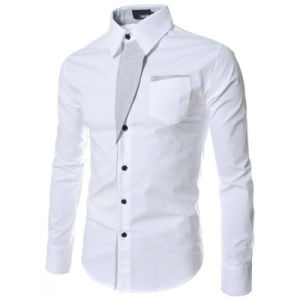2017 New Casual Shirts Long-Sleeved Men Shirt Business Casual Slim Fit Male Shirt pictures & photos