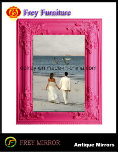 Ho Sale Wooden Wall Mirror Frame, Photo Frame pictures & photos