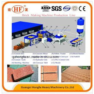 Qt12-15 Concrete Block Brick Making Machine pictures & photos