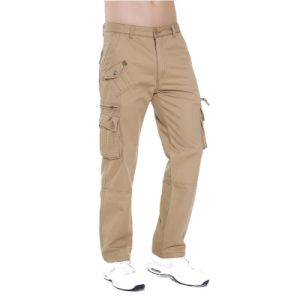 Guangdong Factory Multi Pockets Hot Sale Basic Style Pants pictures & photos
