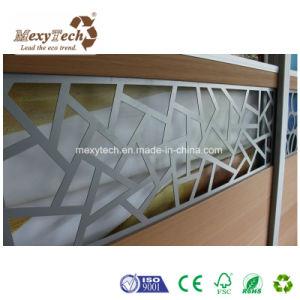 Customized Special Design Aluminum Frame WPC Composite Fence pictures & photos