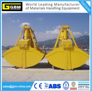 Clamshell Hydraulic Grab Grab Bucket Electric Grapple with Cable Drum pictures & photos