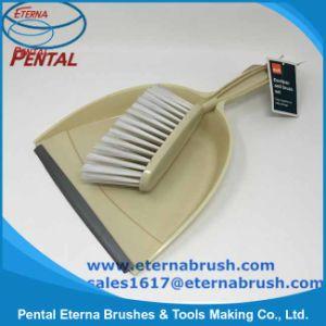 Hot Sale Plastic Dustpan & Brush Set for Table pictures & photos