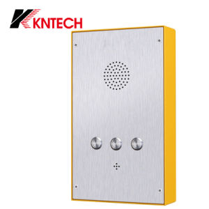 Stainless Steel Hands-Free Emergency Auto Dial Phone VoIP Elevator Telephone pictures & photos