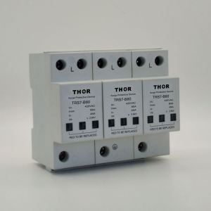 Surge Protector 80ka Lightning Protector for CE pictures & photos
