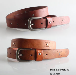 2018 Fashion Leather Womens Belts (FM1297) pictures & photos