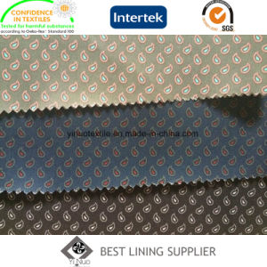 100% Polyester High Quality 250t Twill Printed Lining Men′s Suit Jacket Coat Lining Fabric pictures & photos