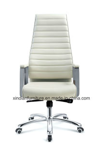 Wholesale Office Metal Chair with Leather Faced pictures & photos