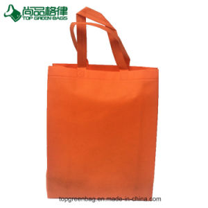 Eco Green Ladie′s Shopping Tote Non Woven Bag pictures & photos