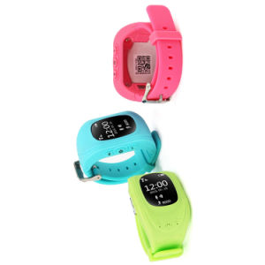 Gelbert-Smart Q50 GSM GPS Lbs Sos Kids Tracker Smart Watch pictures & photos