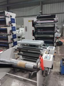 Flexo Printing Machine 3 Color 500mm pictures & photos