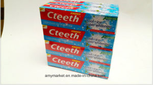 Cteeth No Fluoride Double Mint Cool-Ice Super Whitening Toothpaste pictures & photos