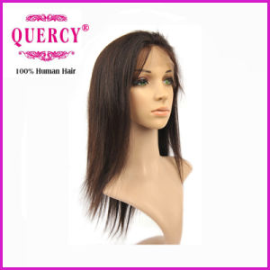 """100% Human Virgin Remy Brazilian 12"""" Straight Front Lace Wig pictures & photos"""