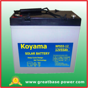 55ah 12V Solar Power Battery pictures & photos