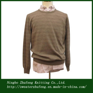 Men′s DOT Line Knit Pullover Sweater Nbzf0050
