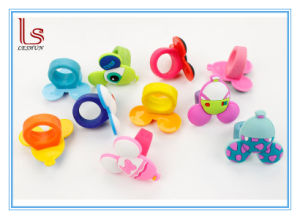 Cartoon Children Kids Silicone Rubber Jewelry Finger Ring pictures & photos