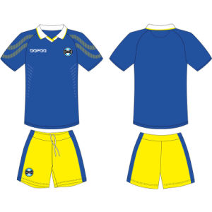 Custom Design Sublimated Pre Match Football Training Wear for Players pictures & photos