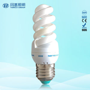 Energy Saving Lamp 11W 13W 15W Full Spiral Tri-Color E14/E27/B22 220-240V pictures & photos