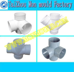 Plastic Pipe Fitting 45 Degree 90 Degree Tee Cross Mould pictures & photos