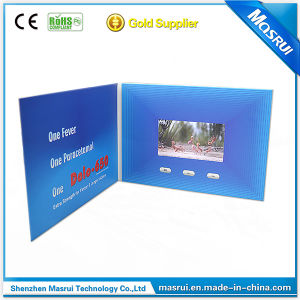 Hot Selling Business Video Card Video Brochure for Wedding. Teacher′s Day, Christmas