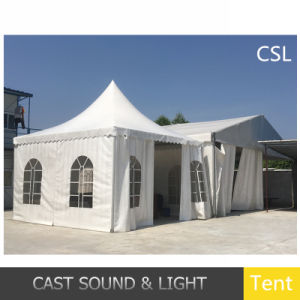 Outdoor Deluxe Canvas Durable Ridge Tent Stage and Roof for Party pictures & photos