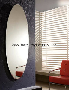 Full Length Oval Glass Mirror for Sale pictures & photos