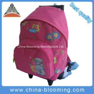 Kids School Student Backpack Rolling Trolley Wheeled Bag pictures & photos