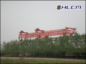 Precast Girder Launching Gantry for Bridge Construction (HLCM-7) pictures & photos