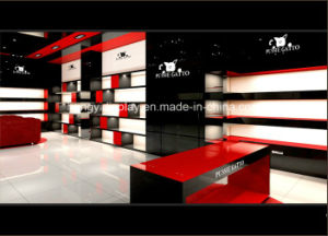 Wooden Furnitures Shop/Store/Mall Design Women in Shoes, Display Fixture pictures & photos