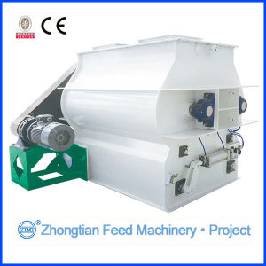 Feed Mixer_Mixing Machine_Double Shaft Feed Mixer pictures & photos