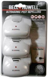 Bell Howell Ultrasonic Pest Control with Extra Outlet (ZT09047) pictures & photos