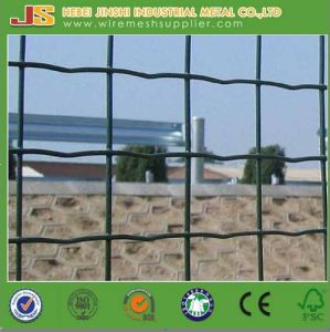 PVC Coated Euro Welded Mesh Fence Withce pictures & photos