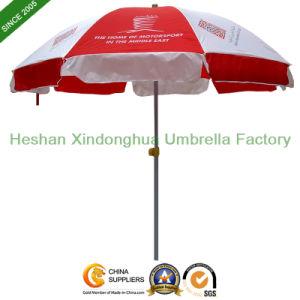 Promotional Beach Umbrella with Custom Logo, Advertising Sun Umbrella (BU-0048W) pictures & photos