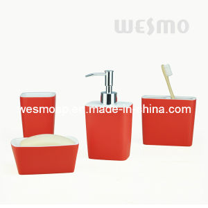 Two-Tone Polyresin Bath Accessories (WBP0822A) pictures & photos