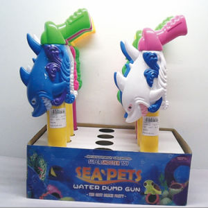Plastic Fish Shark and Octopus Water Gun Summer Toy