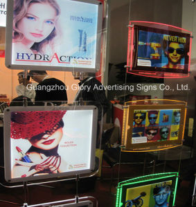 Acrylic Panel LED Edgelit Sign Crystal Light Box pictures & photos