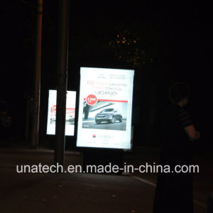 Innovative Outdoor Media Advertising Mesh Fabric Sign Scrolling Image Lightbox pictures & photos