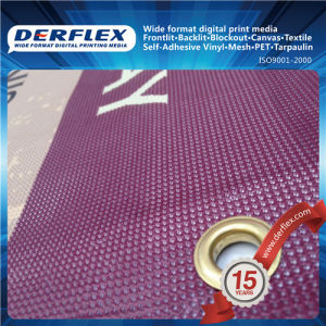 Vinyl Coated Woven Polyester Mesh Fabric pictures & photos