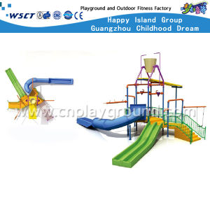 Cheap Small Water Park Slide and Water Playground (HD-6603) pictures & photos