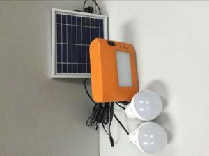 Solar LED Homg Lighting System in Best Design pictures & photos