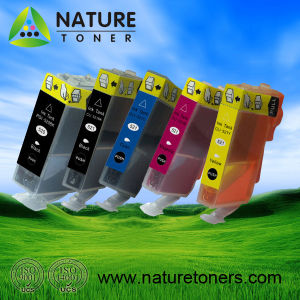 PGI-520BK, CLI-521BK/C/M/Y/GY Compatible Ink Cartridge for Canon Printer pictures & photos