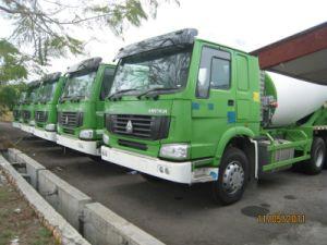 Sinotruk HOWO 6cbm Concrete Mixer Truck pictures & photos
