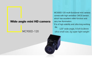 120deg Wide Angle Smallest Night Vision Mini HD Camera with Housing pictures & photos