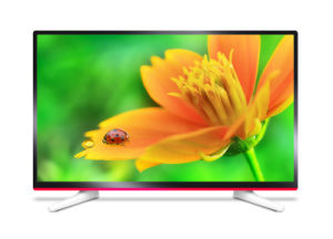 40 Inch Eled TV with Tempered Glass (40A9E1, Pink)